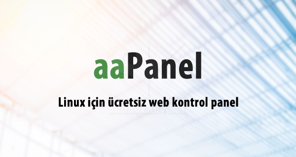 aaPanel Web Hosting Panel